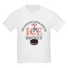 Coolest Girls Hockey T-Shirt