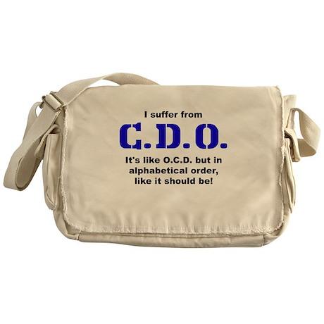 C.D.O. Messenger Bag