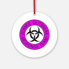Zombie Apocalypse Ornament (Round)