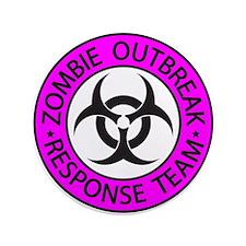 """Zombie Apocalypse 3.5"""" Button"""