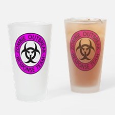 Zombie Apocalypse Drinking Glass