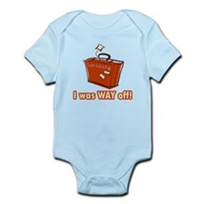 Dumb Dumber Samsonite Infant Bodysuit