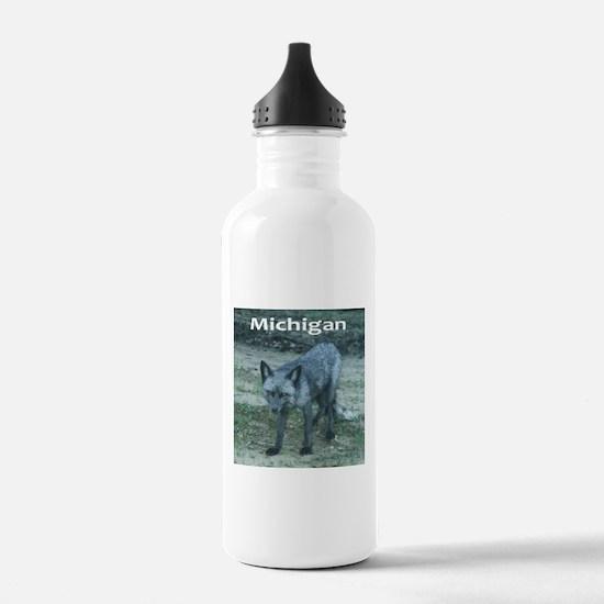 Silver Fox Water Bottle