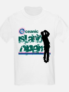 Oceanic Island Open T-Shirt