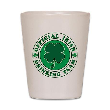 Official Irish Drinking Team Shot Glass