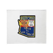 AZ HP Route 66 Throw Blanket