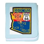 AZ HP Route 66 baby blanket