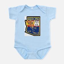 AZ HP Route 66 Infant Bodysuit