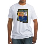 AZ HP Route 66 Fitted T-Shirt