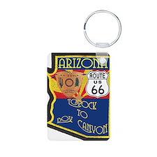 AZ HP Route 66 Keychains