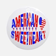 American Sweetheart Ornament (Round)