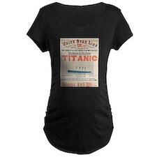 Titanic Advertising Card T-Shirt