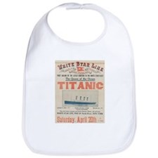 Titanic Advertising Card Bib