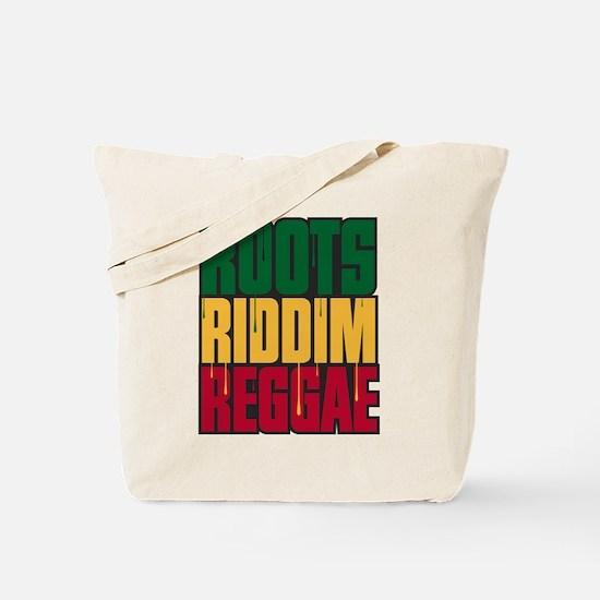 Roots Riddim Reggae Tote Bag