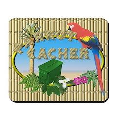 Parrot Cacher Mousepad