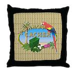 Parrot Cacher Throw Pillow