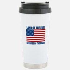 Because of the Brave Travel Mug
