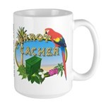 Parrot Cacher Large Mug