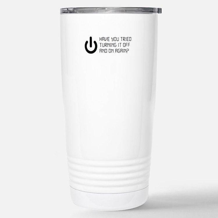 I.T. Stainless Steel Travel Mug