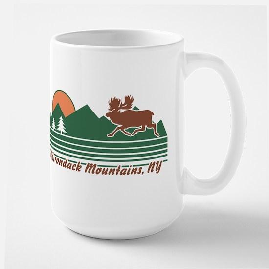 Adirondack Mountains NY Large Mug