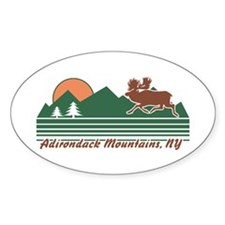 Adirondack Mountains NY Decal