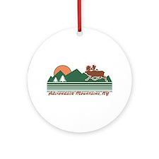 Adirondack Mountains NY Ornament (Round)