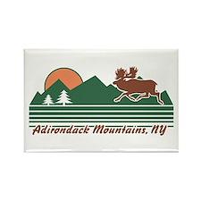 Adirondack Mountains NY Rectangle Magnet