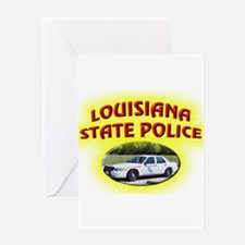 Louisiana State Police Greeting Card