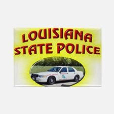 Louisiana State Police Rectangle Magnet