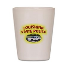 Louisiana State Police Shot Glass