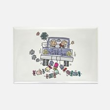 Just Married Car Rectangle Magnet