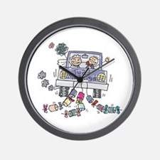 Just Married Car Wall Clock