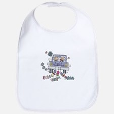 Just Married Car Bib