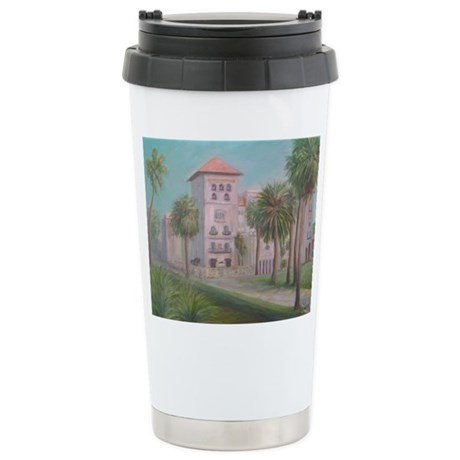 CASA MONICA Stainless Steel Travel Mug