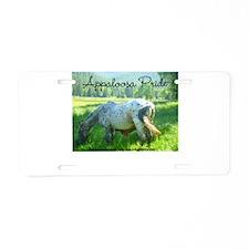 Appy Pride Aluminum License Plate