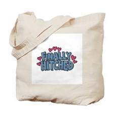 Finally Hitched Tote Bag