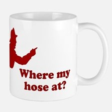 Where My Hose At Small Small Mug