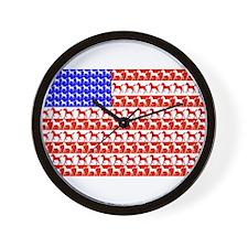 Foal Flag Wall Clock