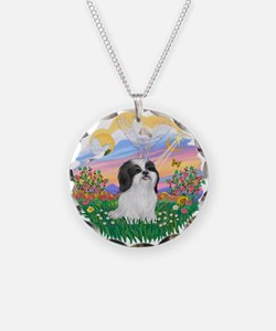 Guardian / Shih Tzu #22 Necklace Circle Charm