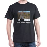 Ski Shooting Dark T-Shirt