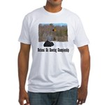 Ski Shooting Fitted T-Shirt