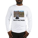 Ski Shooting Long Sleeve T-Shirt