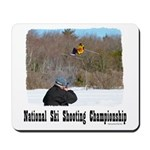 Ski Shooting Mousepad