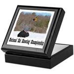 Ski Shooting Keepsake Box