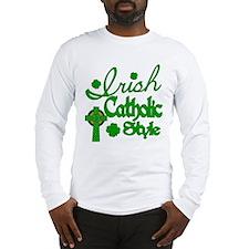 Irish Catholic Long Sleeve T-Shirt