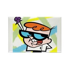 Dexter's Lab Rectangle Magnet