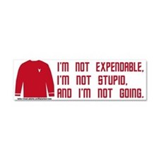 Red Shirt Society Car Magnet 10 x 3