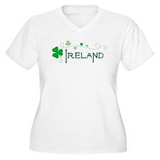 Ireland 11 Plus Size T-Shirt