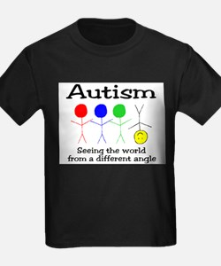seeing the world from different angle T-Shirt