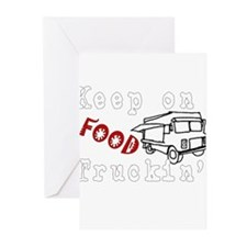 Keep on Food Truckin' Greeting Cards (Pk of 10)
